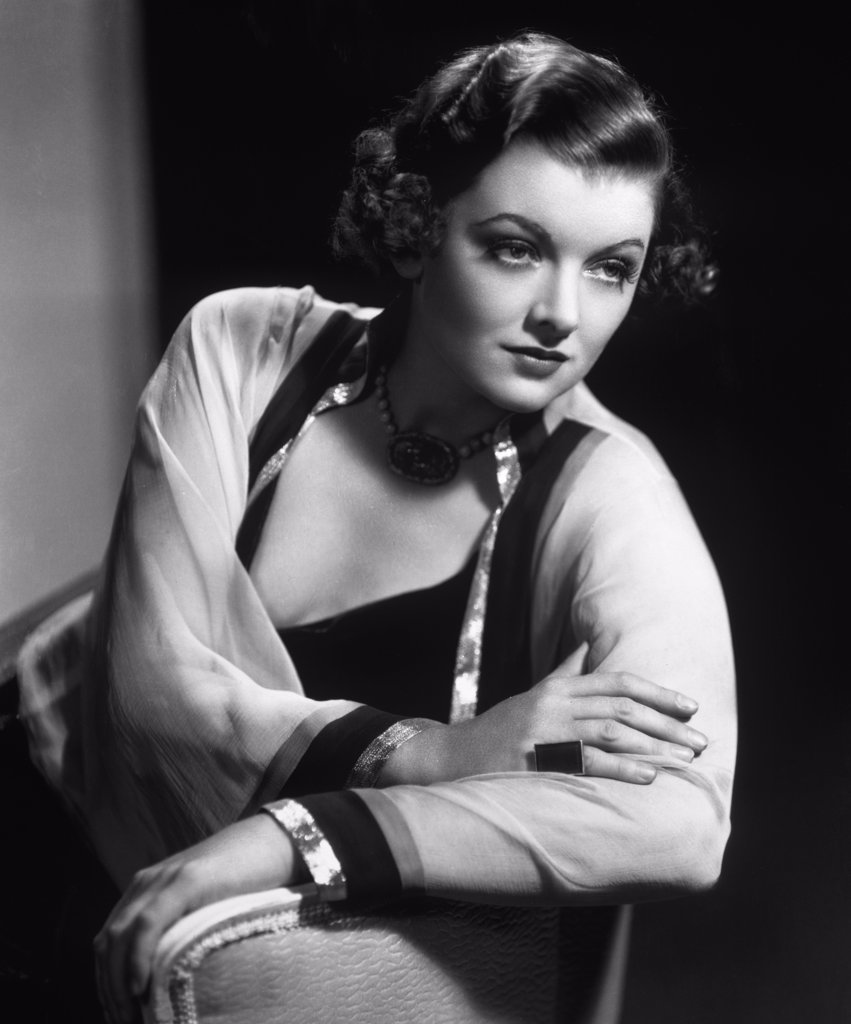Stock Photo: 252-344 Myrna Loy 