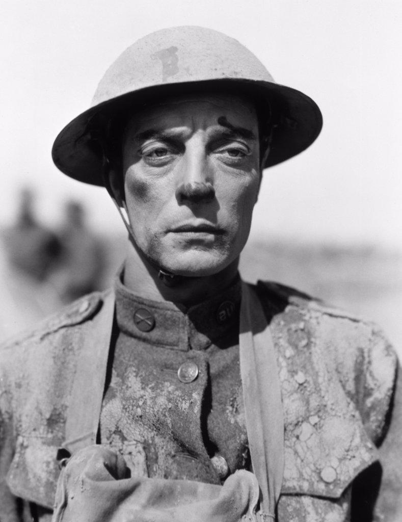 Stock Photo: 252-345 Buster Keaton Doughboys 1930