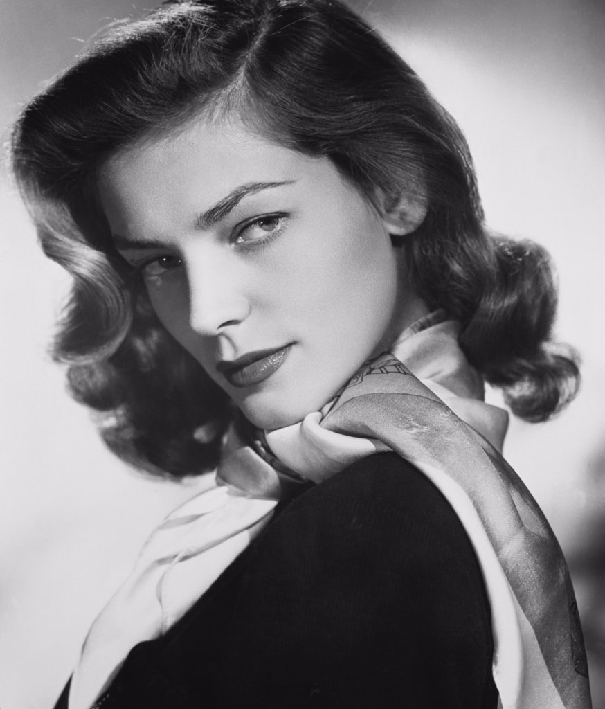 Stock Photo: 252-357 Lauren Bacall 1952 Actress (b.1924)