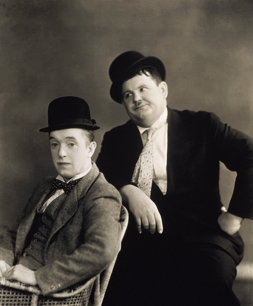 Stock Photo: 252-366 Laurel and Hardy
