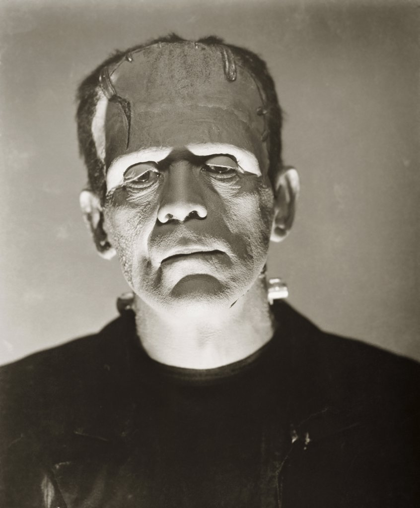 Stock Photo: 252-386 Boris Karloff