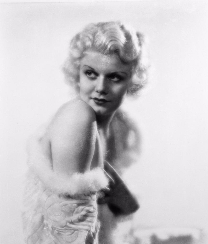 Stock Photo: 252-400 Jean Harlow  Actress  (1911-1937)