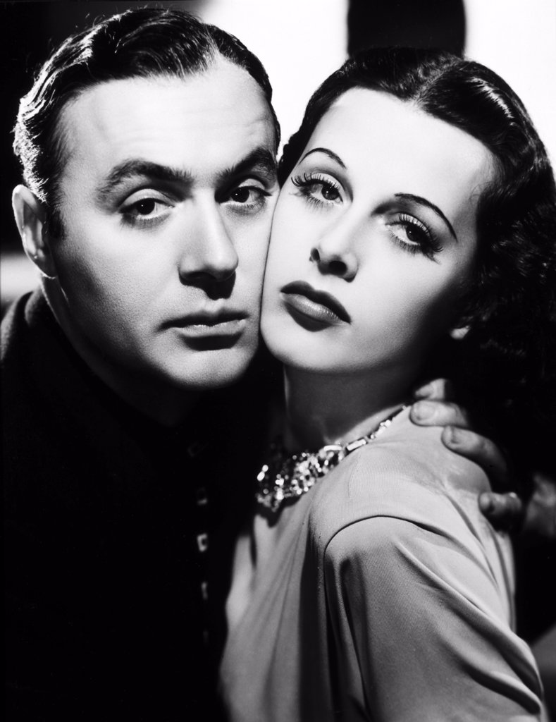 Stock Photo: 252-404 Hedy Lamarr and Charles Boyer  