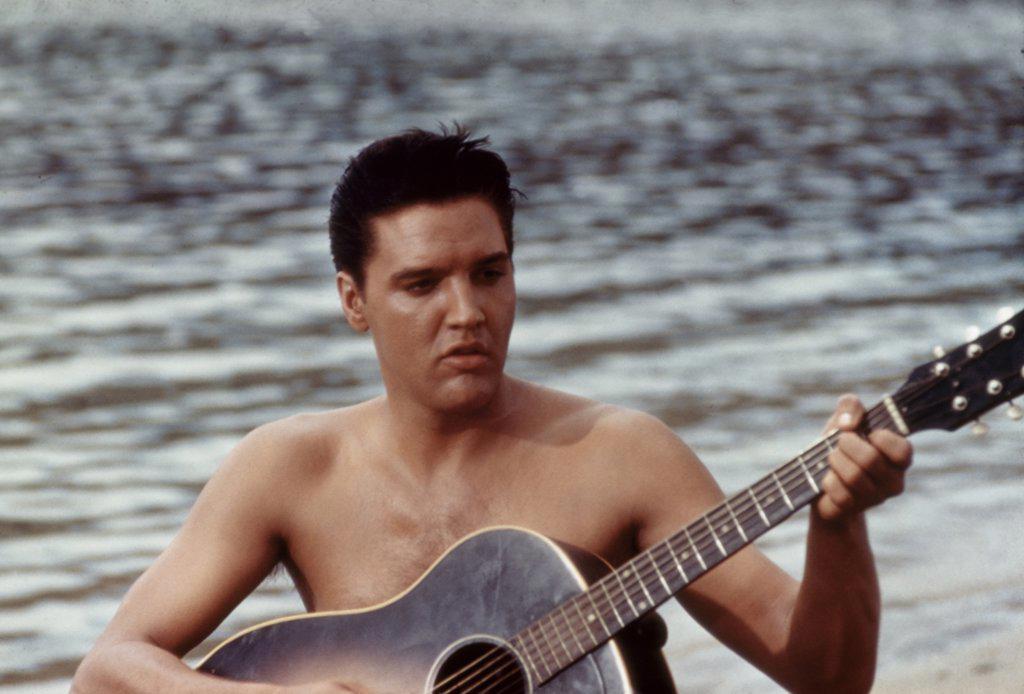 Stock Photo: 252-430 Elvis Presley Musician/Actor 1935-1977