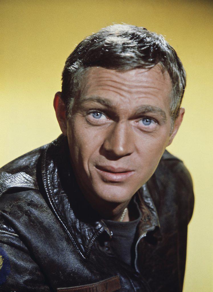Stock Photo: 252-436 Steve McQueen  1962