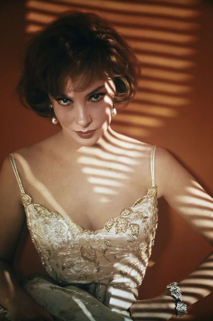 Stock Photo: 252-437 Gina Lollobrigida  