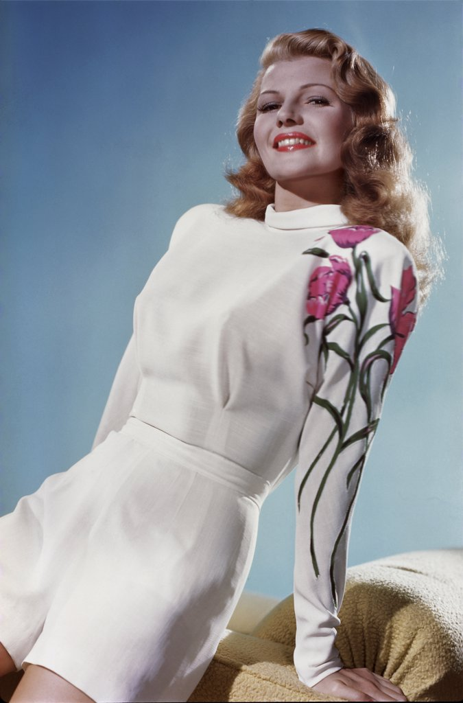 Stock Photo: 252-445 Rita Hayworth  