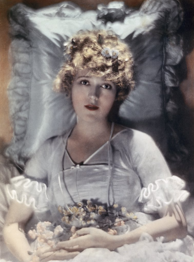 Mary Pickford  (1893-1979)  Actress    : Stock Photo
