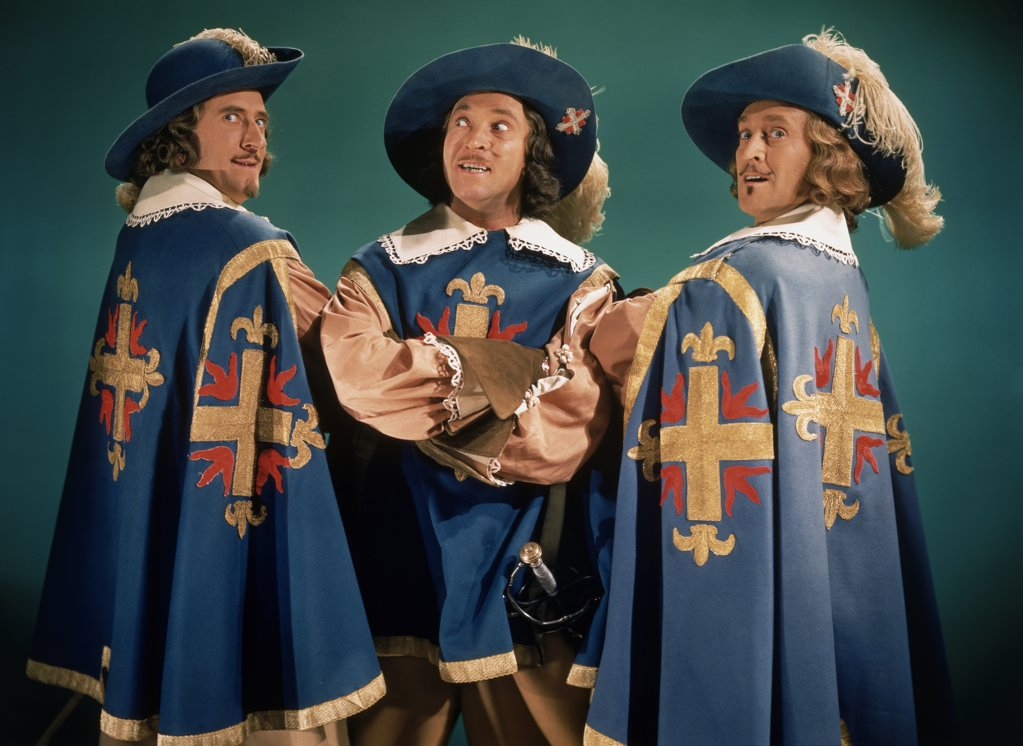 "Stock Photo: 252-487 ""The Three Musketeers"" 