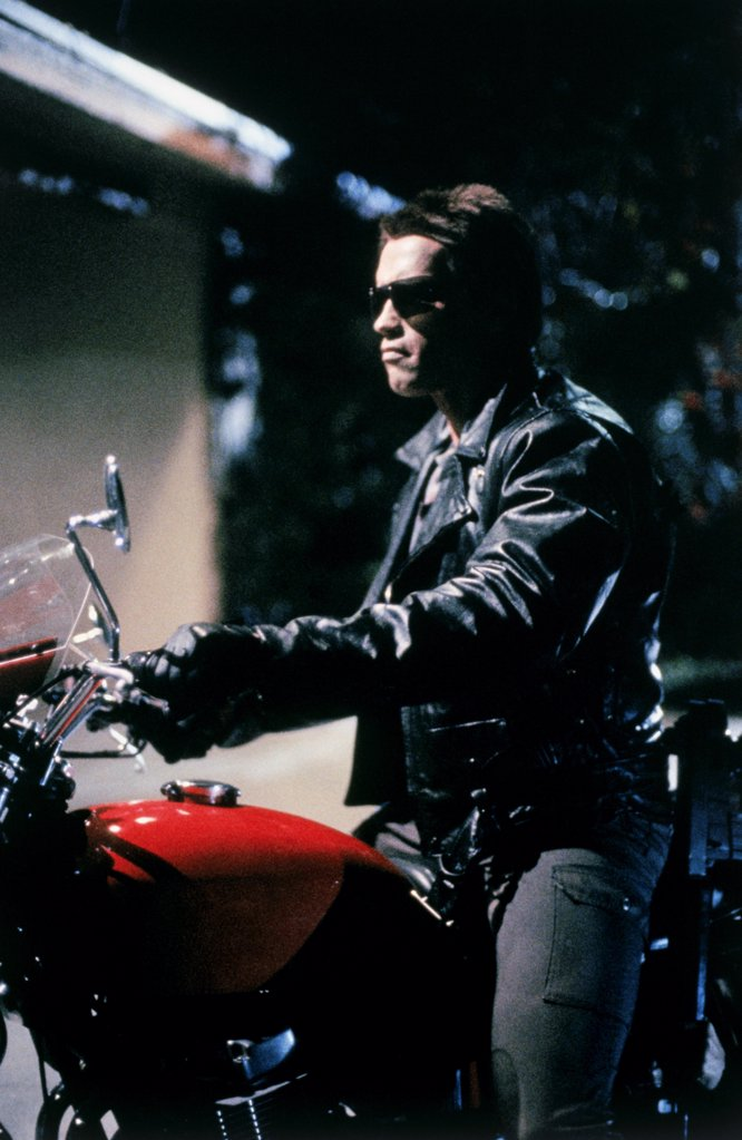 Stock Photo: 252-508 Arnold Schwarzenegger in The Terminator, 1984