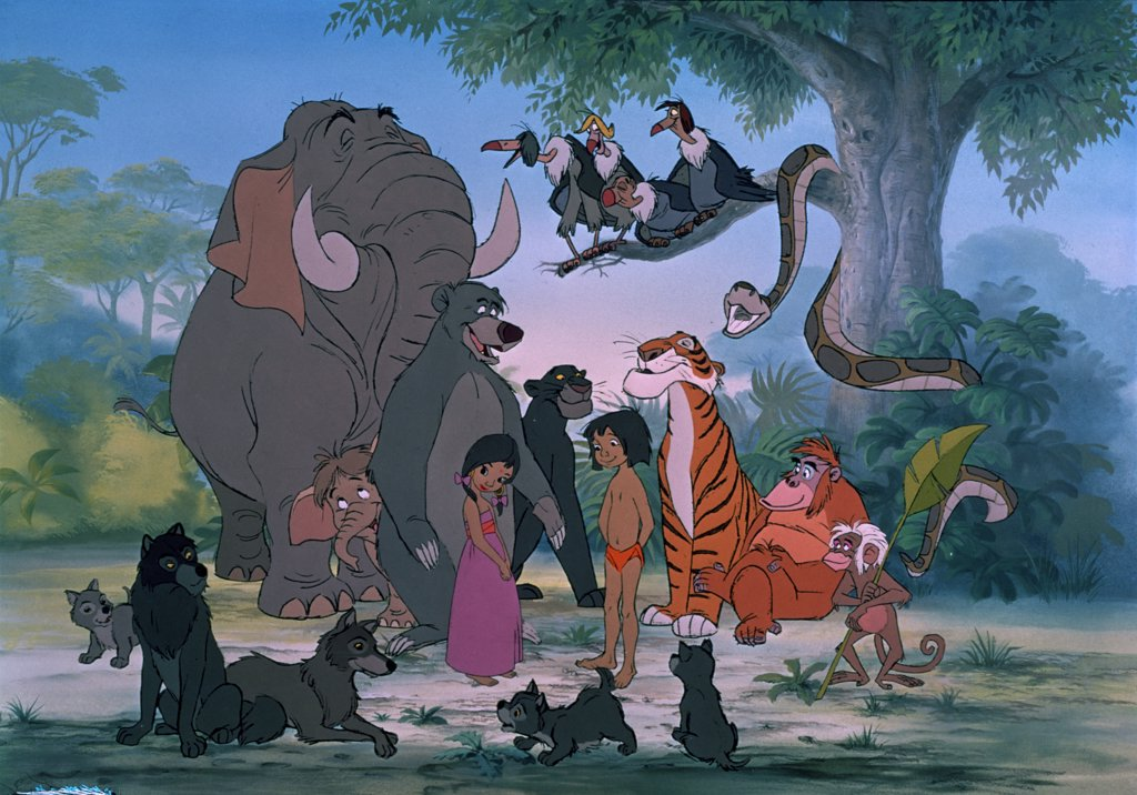 Stock Photo: 252-528 The Jungle Book 1967