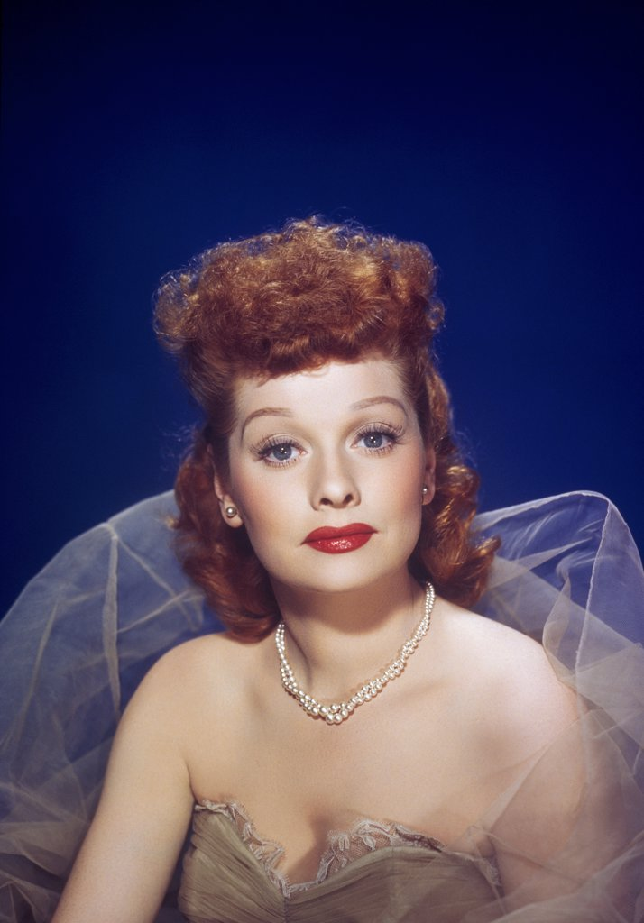 """Stock Photo: 252-540 Lucille Ball  """"The Big Street""""  1942"""