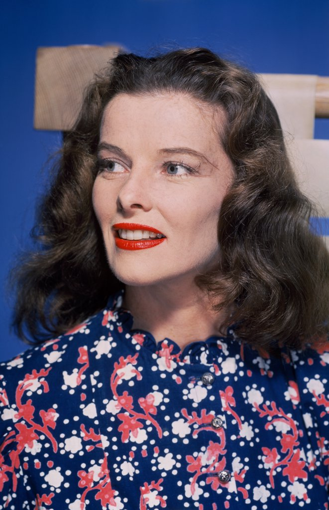 Stock Photo: 252-541 Katharine Hepburn 