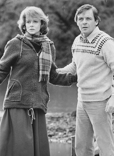 "Stock Photo: 253-150 Ann-Margaret and Anthony Hopkins in ""Magic"", 1978"