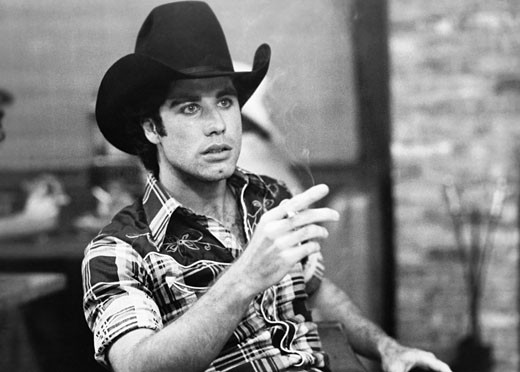 John Travolta, Urban Cowboy, 1980 : Stock Photo