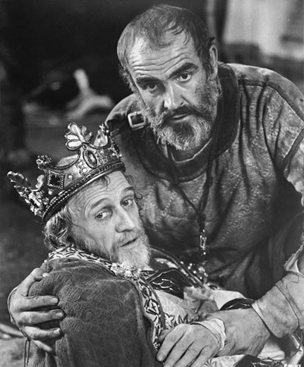 "Stock Photo: 253-188 Sean Connery and Richard Harris in ""Robin and Marian"", 1976"