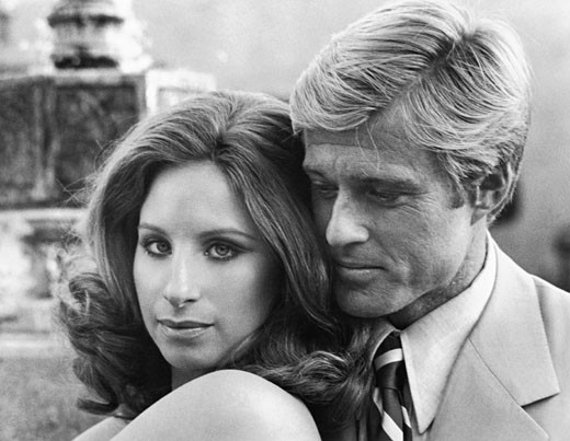 Stock Photo: 253-191 Barbra Streisand and Robert Redford, The Way We Were, 1973