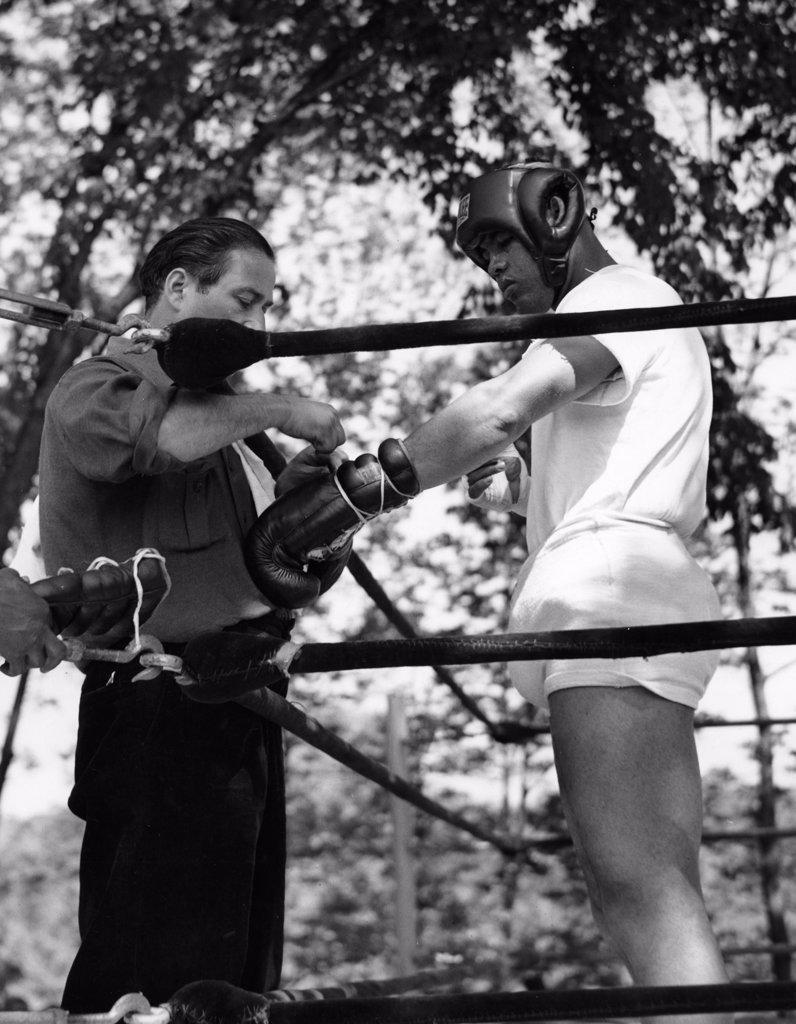 Stock Photo: 255-103 Joe Louis, 1914-1981, World Heavyweight, Boxing Champion