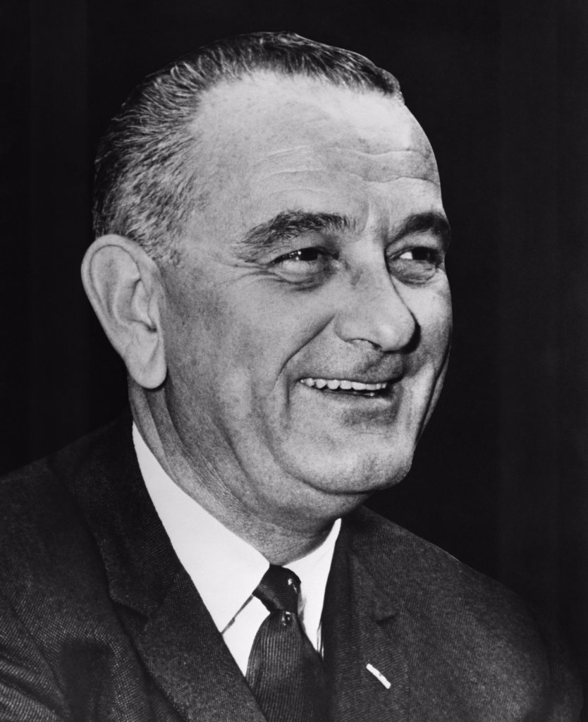 Stock Photo: 255-11183 Lyndon Baines Johnson