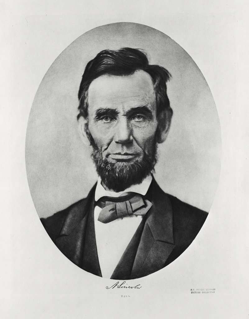 Stock Photo: 255-11698 Abraham Lincoln
