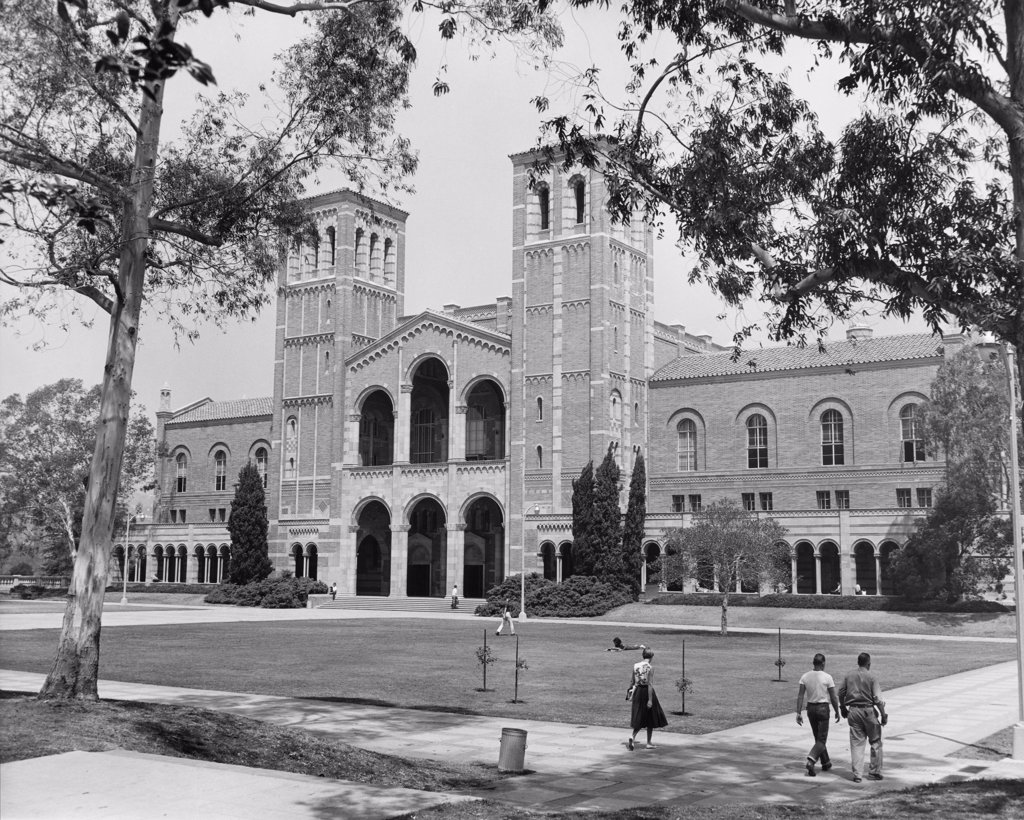 Stock Photo: 255-13000 Royce Hall, University of California, Los Angeles, California, USA