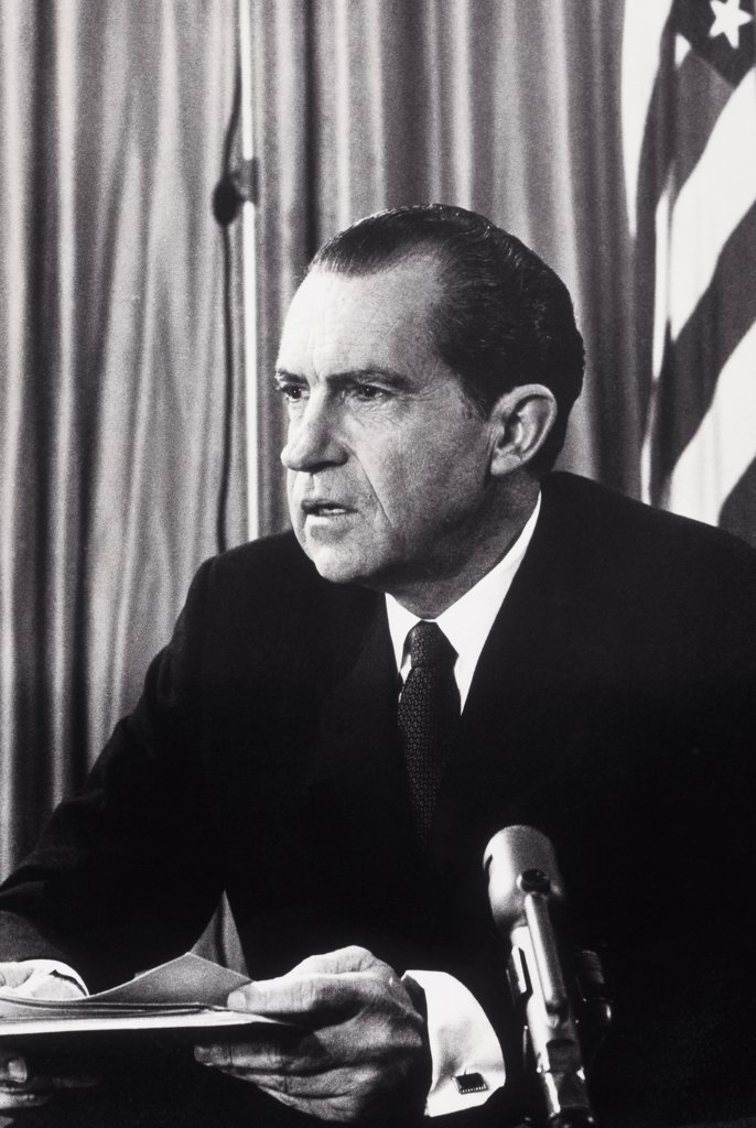 Stock Photo: 255-14139 Richard Milhous Nixon