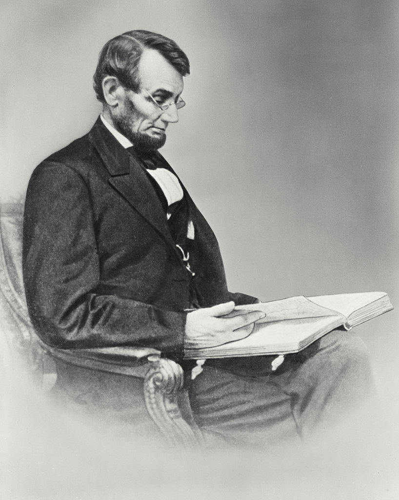 Stock Photo: 255-14499 Abraham Lincoln 
