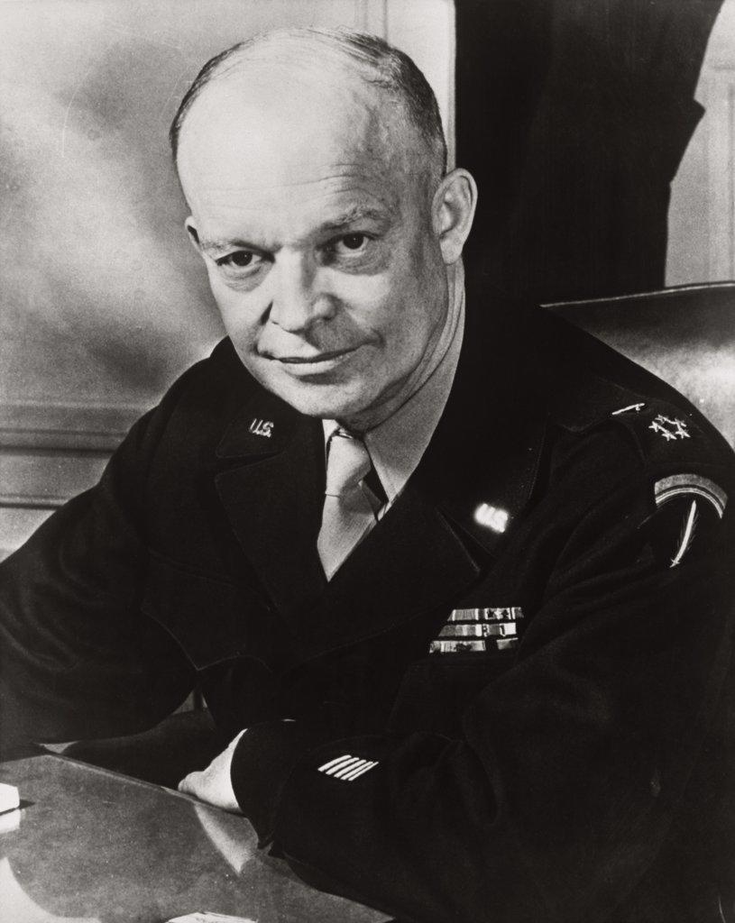 Stock Photo: 255-14645B General Dwight D. Eisenhower