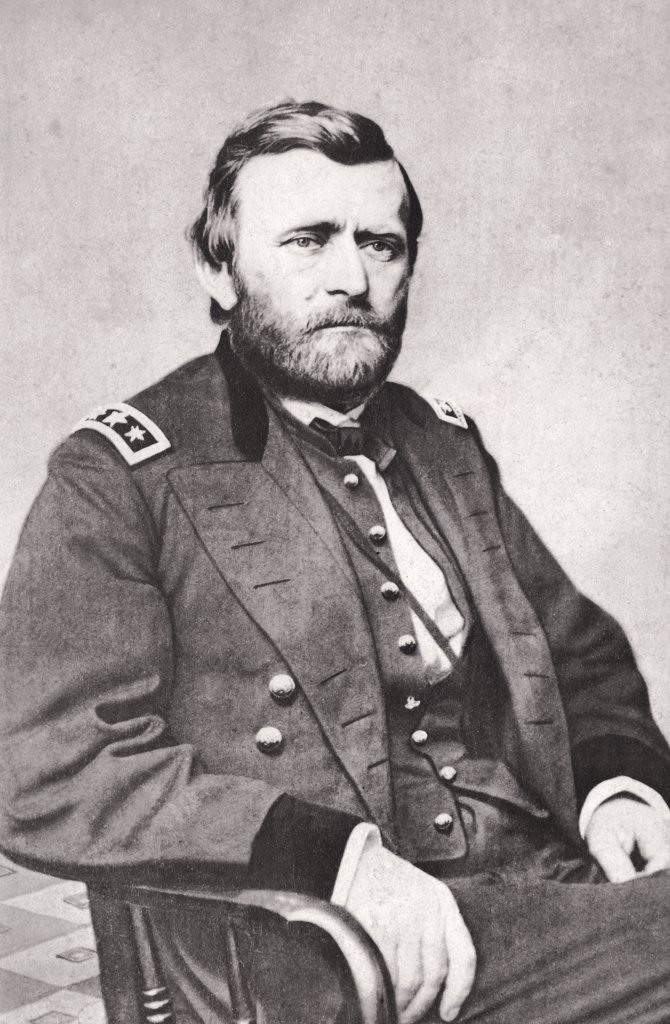 Stock Photo: 255-1790 Ulysses S. Grant