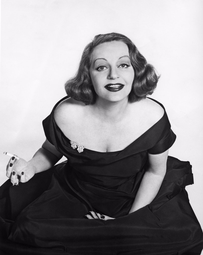 Tallulah Bankhead Actress (1903-1963) : Stock Photo