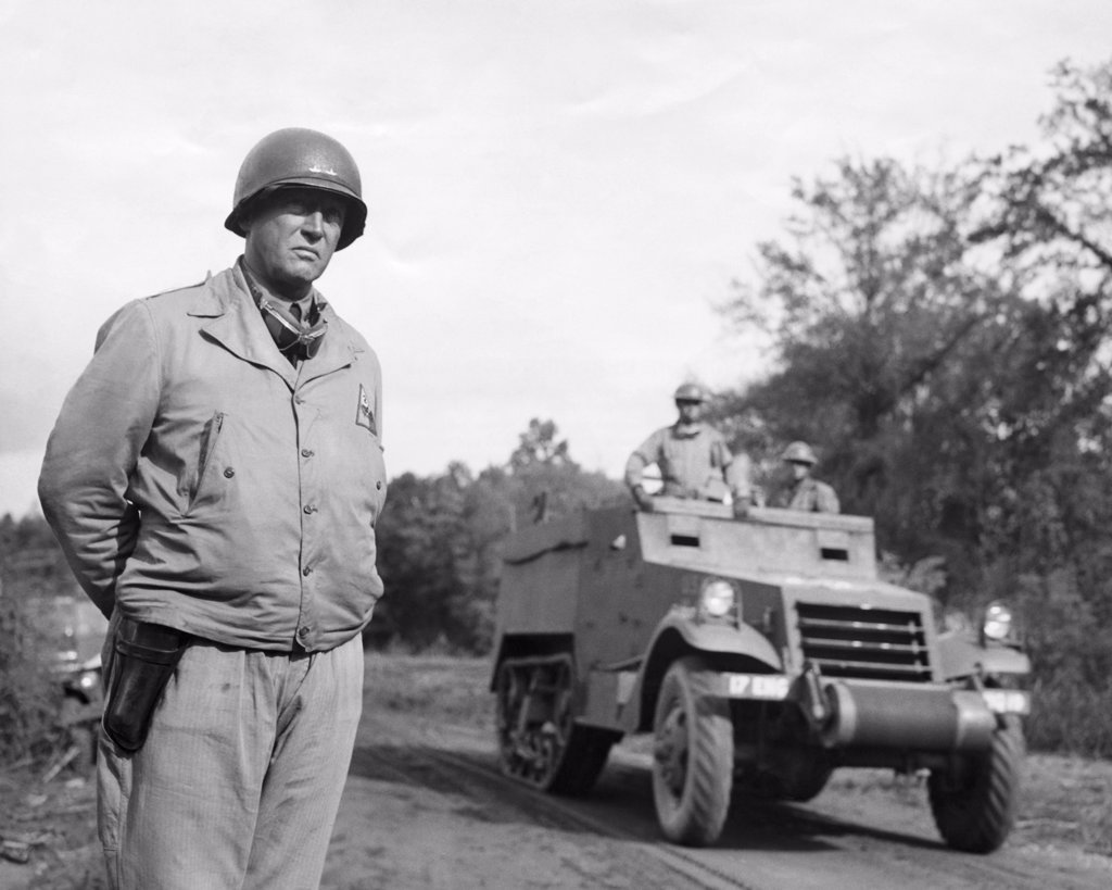 Stock Photo: 255-18913 George S. Patton