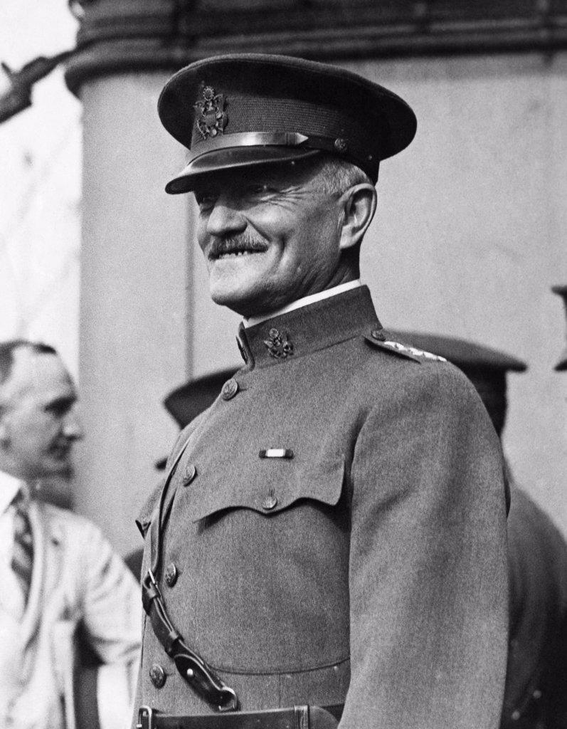 Stock Photo: 255-18915 John J. Pershing General U.S. Army (1860-1948)