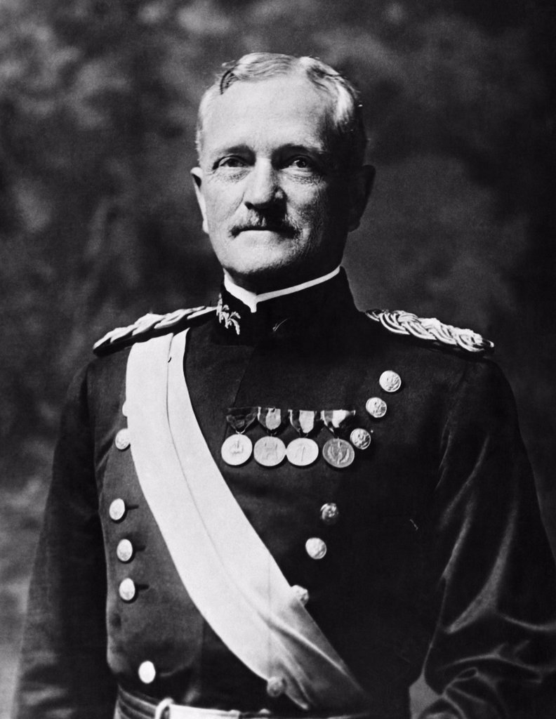 Stock Photo: 255-18916 John J. Pershing