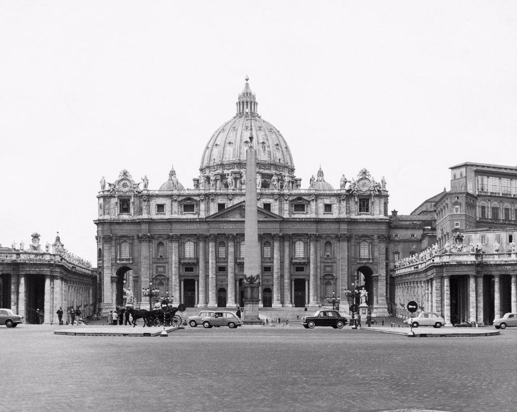 St. Peter's Basilica Vatican City : Stock Photo