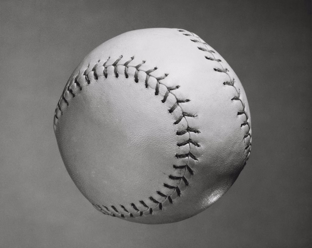Close-up of a baseball : Stock Photo