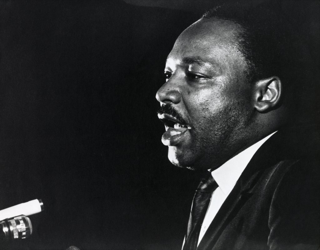 Stock Photo: 255-277 Dr. Martin Luther King, Jr., Last Public Appearance, April 4, 1968