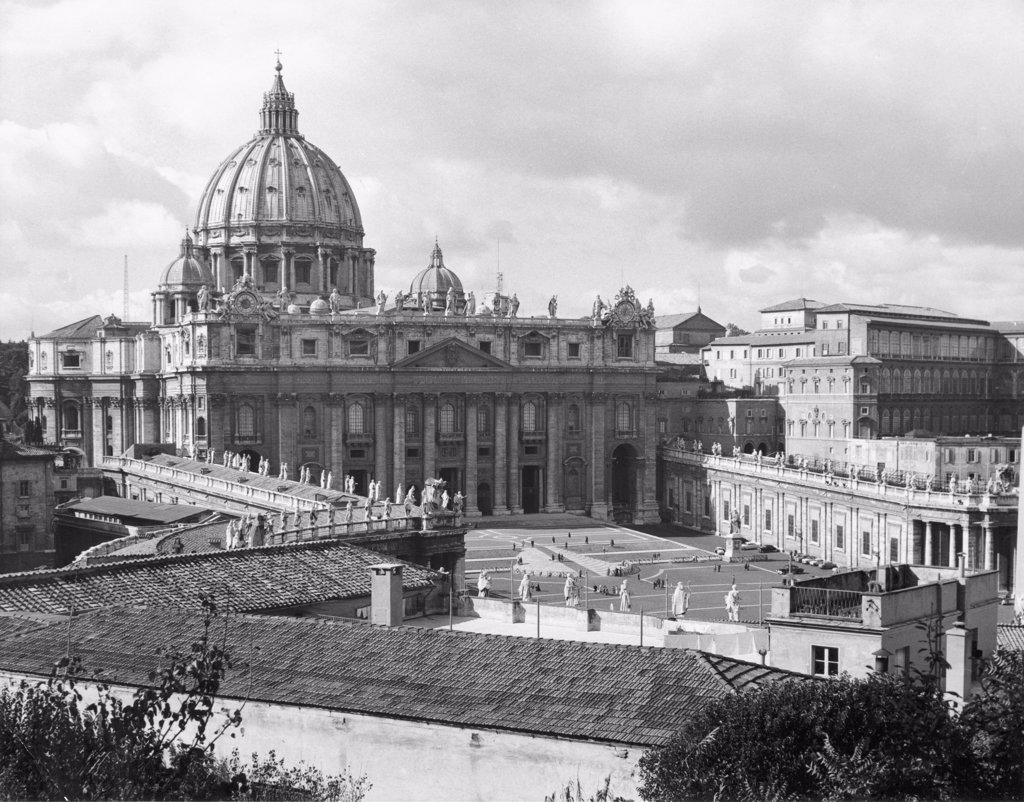 Stock Photo: 255-28238 St. Peter's Basilica