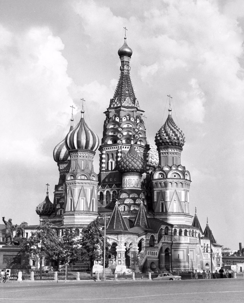Stock Photo: 255-28334 St. Basil's Cathedral 