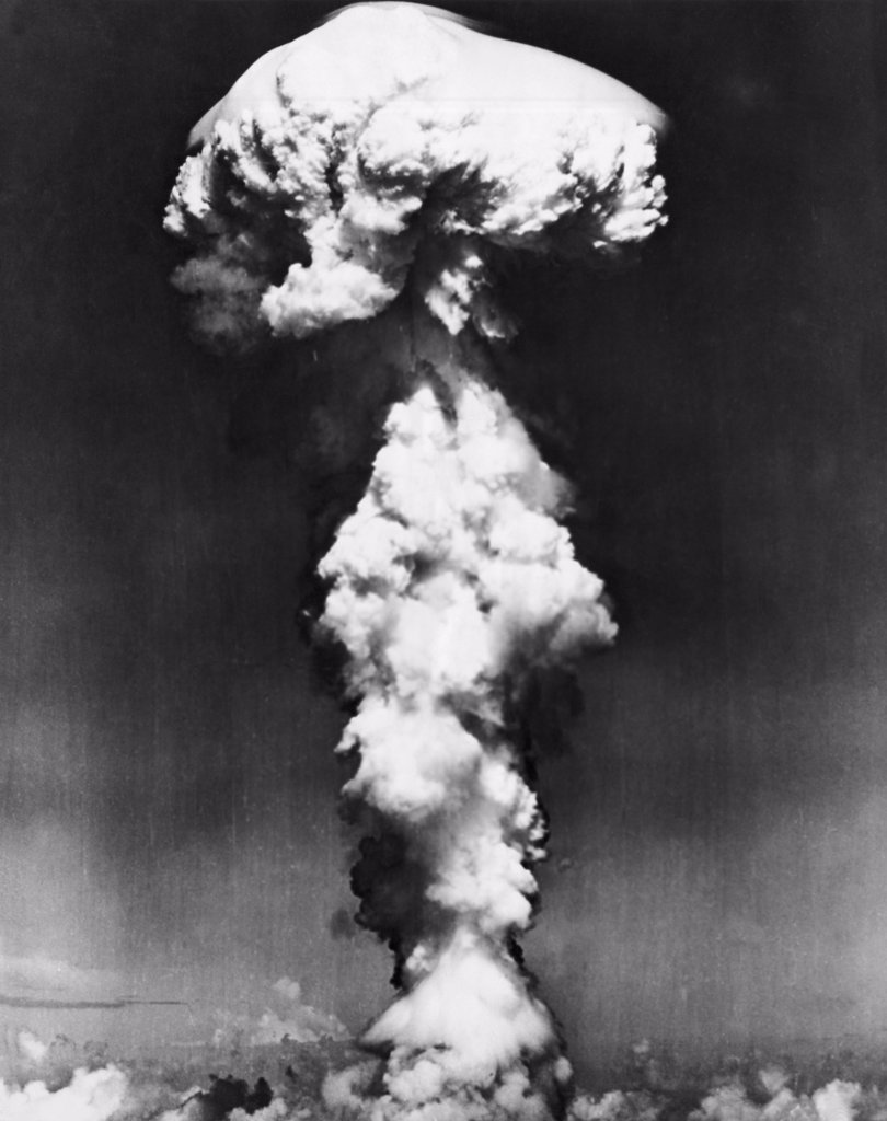 Stock Photo: 255-28440 Able Day nuclear test detonation, Bikini Atoll, Marshall Islands, July 1, 1946