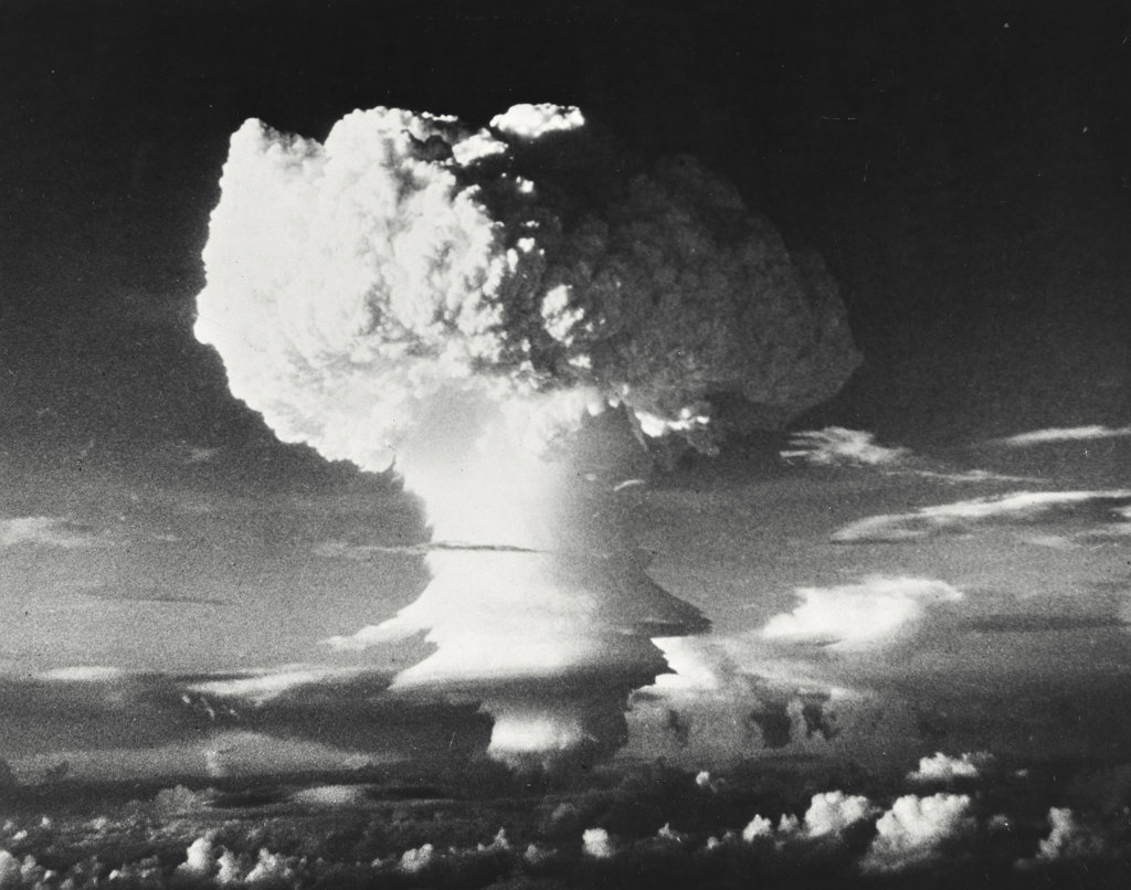 Stock Photo: 255-28453 Hydrogen bomb explosion, Marshall Islands, Operation Ivy, 1952