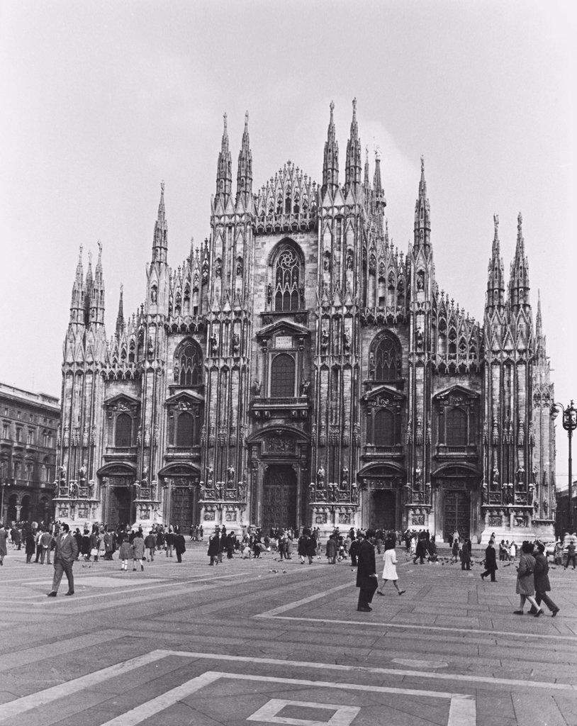 Duomo  Milan Italy : Stock Photo
