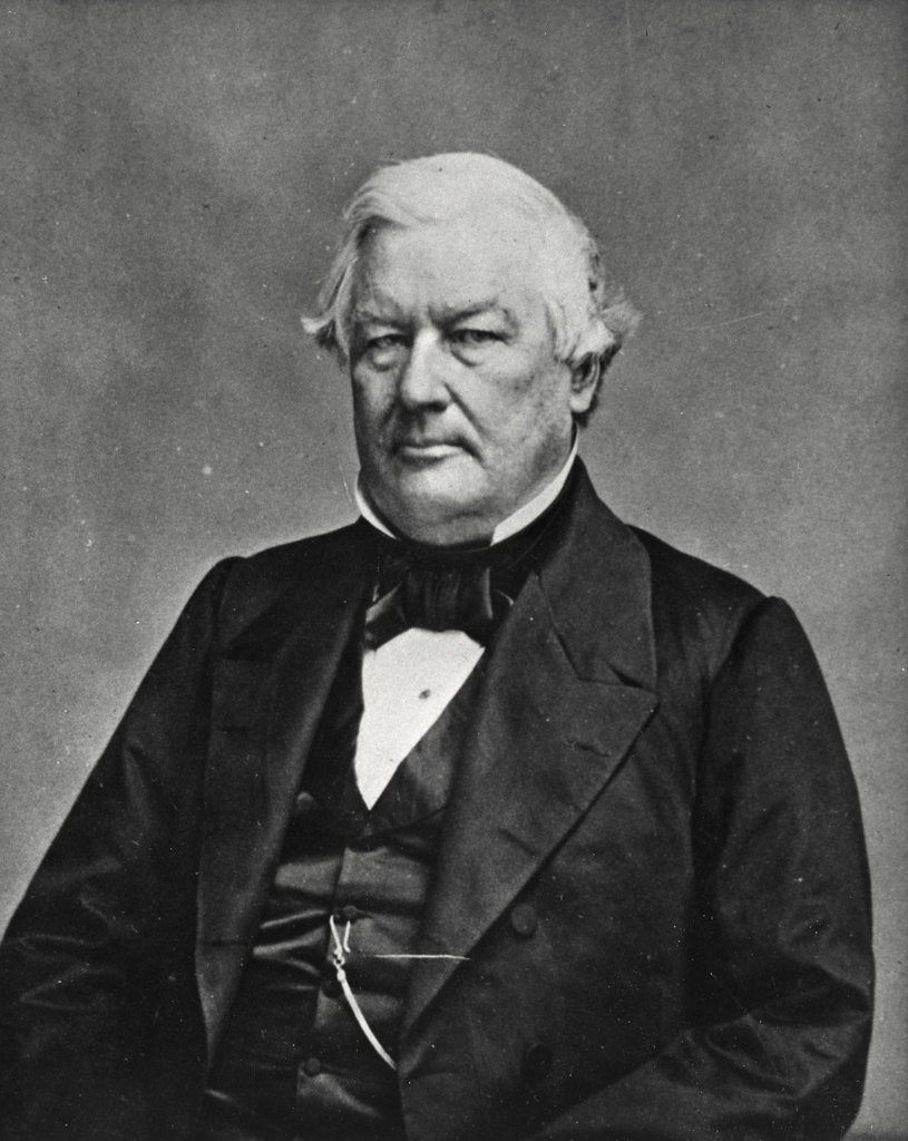 Stock Photo: 255-29323 Millard Fillmore, 13th President of the United States
