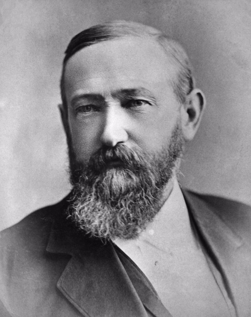 Stock Photo: 255-29427 Benjamin Harrison