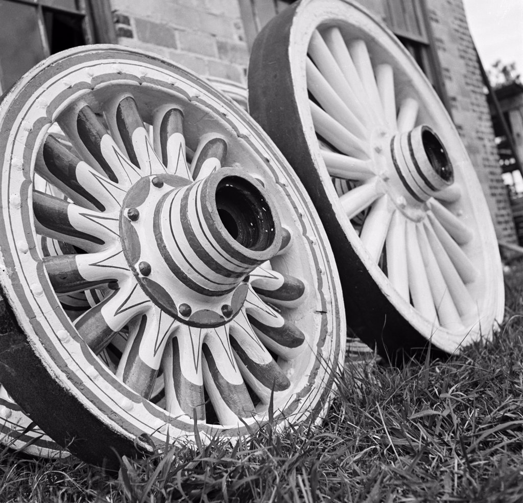 Circus Wheels : Stock Photo