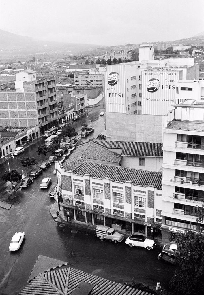 Colombia, Medellin, cityscape : Stock Photo