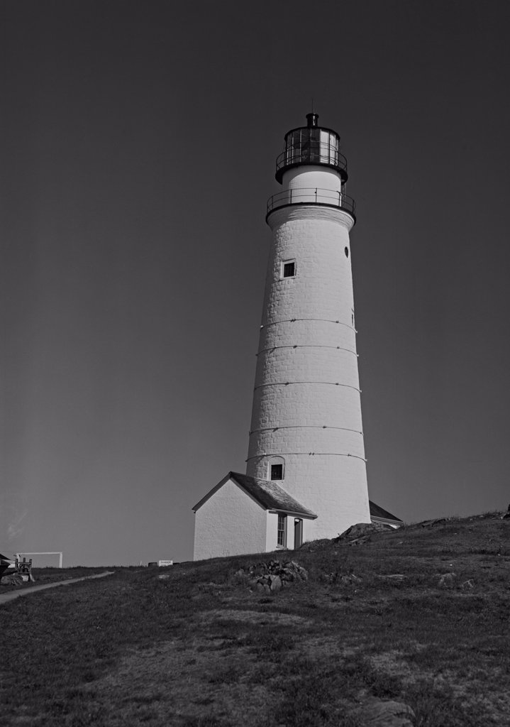 USA, Massachusetts, Boston, Lighthouse : Stock Photo