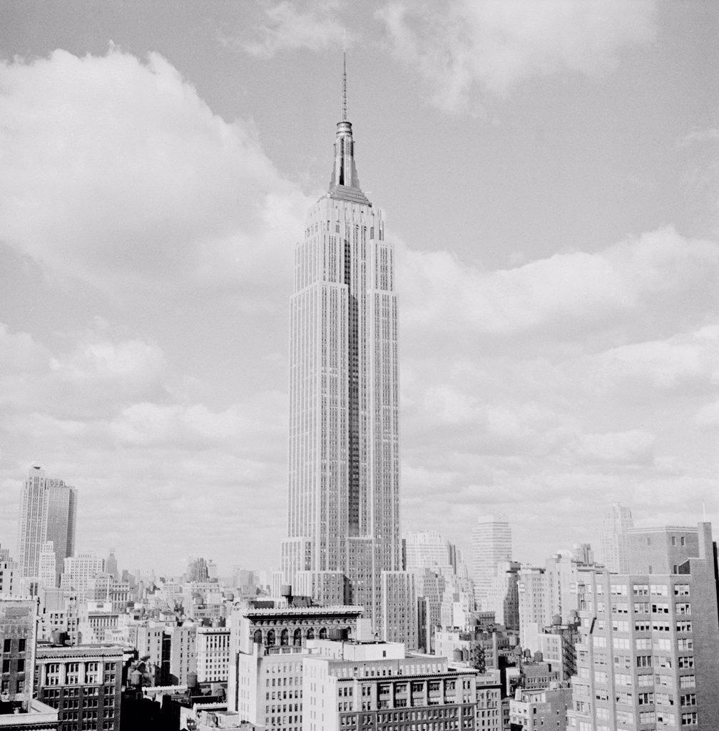 USA, New York City, Empire State Building : Stock Photo