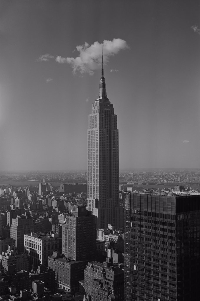 Stock Photo: 255-424422 USA, New York City, Empire State Building