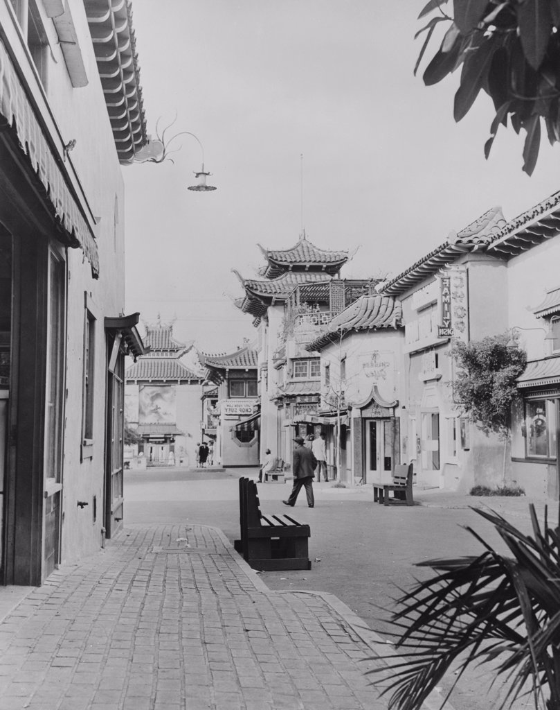 USA, California, Los Angeles, Chinatown : Stock Photo