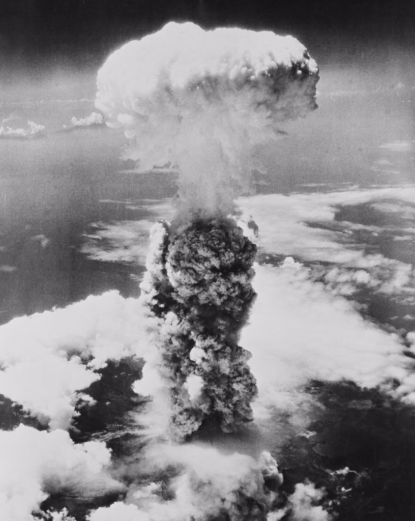 Stock Photo: 255-424896 Japan, Chugoku Region, Hiroshima, Atomic explosion on 6th August, 1945